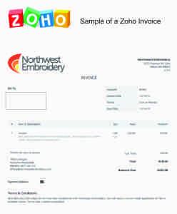 Zoho Invoices
