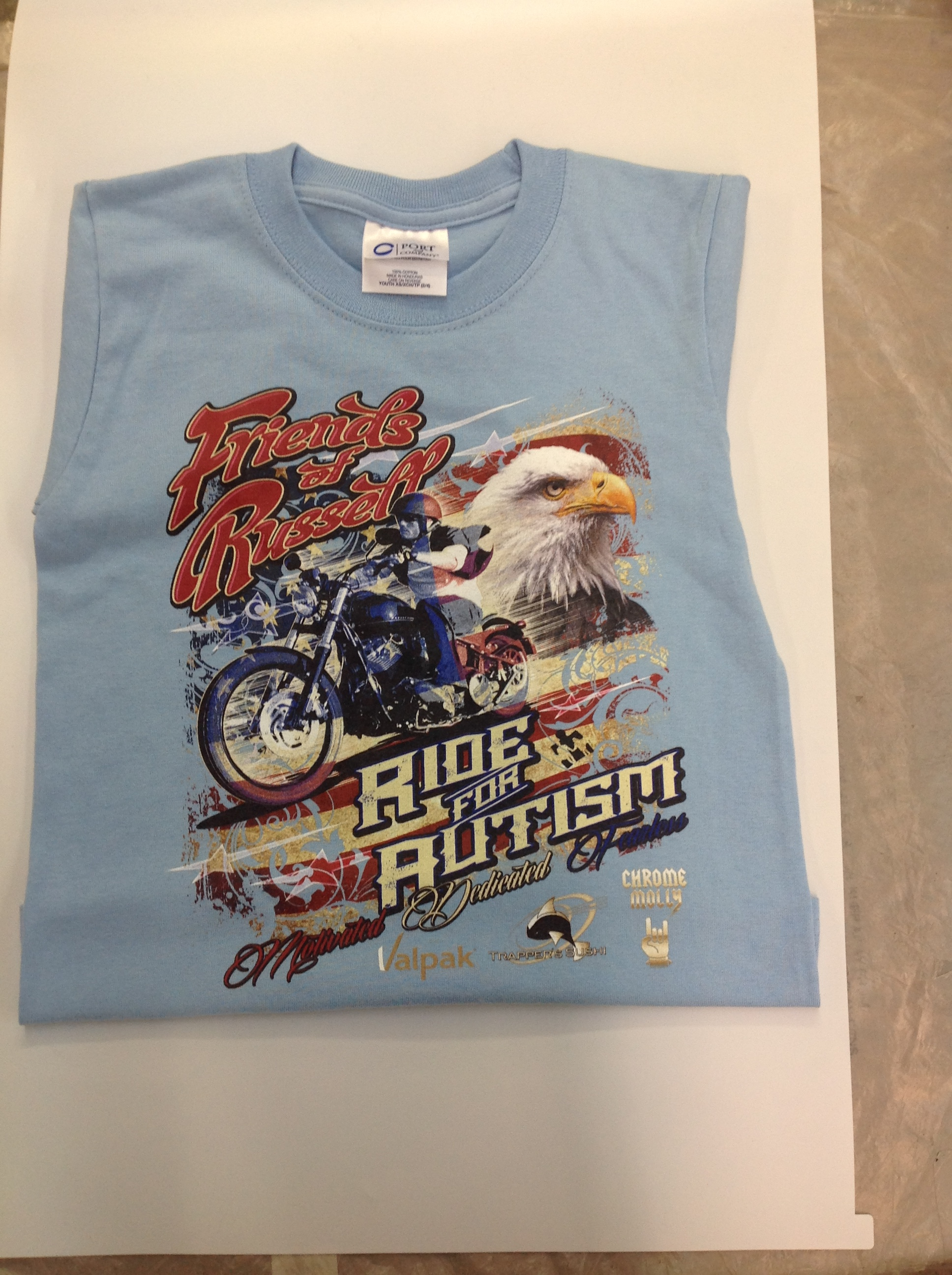 Ride For Autism Custom Shirts Northwest Embroidery Apparel