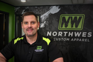 Erik Mickelson, Northwest Custom Apparel