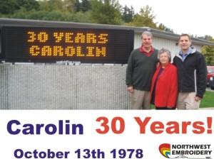 carolin 30th anniversary