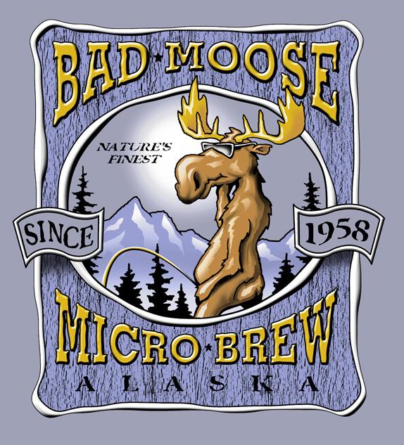 Bad Moose Microbeer
