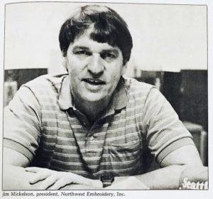 Jim Mickelson photo taken in 1984
