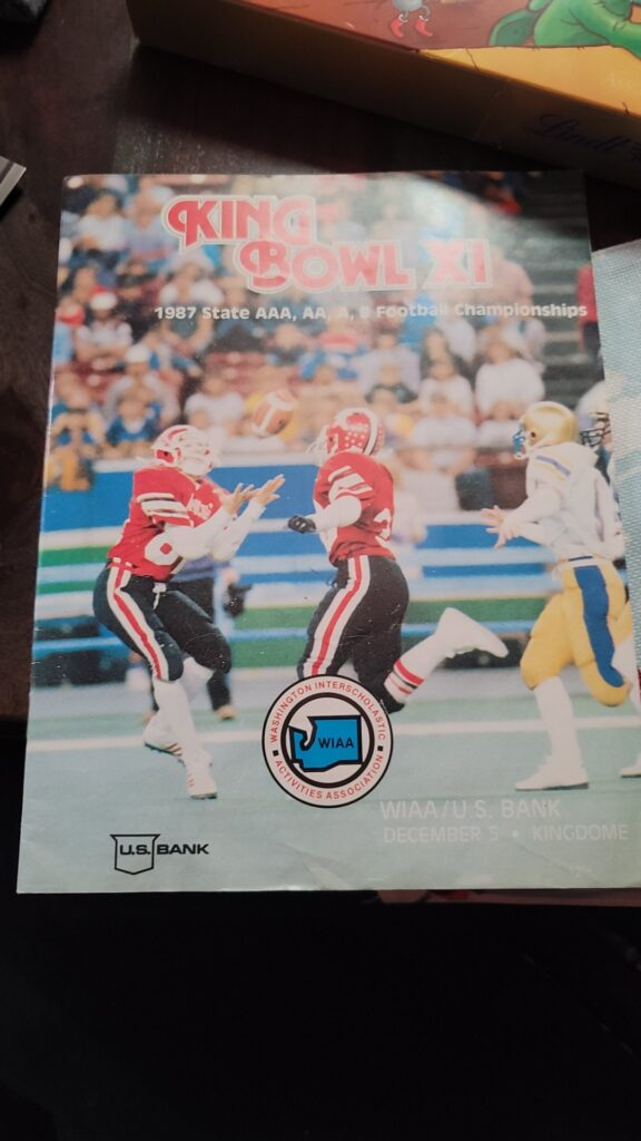 King Bowl 1997 Program Front Cover