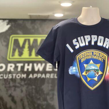 I support Tacoma Police